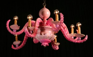 Adam Wallcavage's Dixie LaRue chandelier