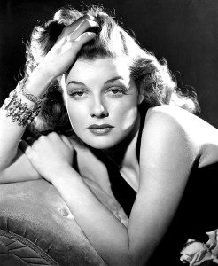 Glamour portrait by George Hurrell