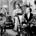 Bette Davis, Reginald Gardiner and Monty Woolley in The Man Who Came to Dinner