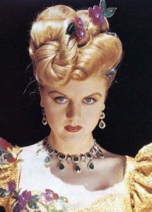 Angela Lansbury looking all damey and shit
