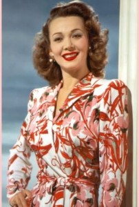 Carole Landis in color