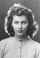 Even at 13, Ava Gardner was loaded with va-va-voomery.