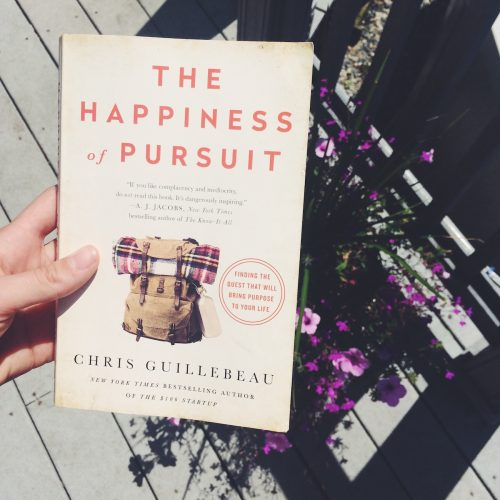 chris guillebeau happiness of pursuit