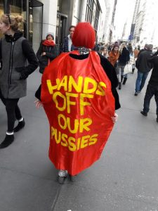 Women's March says Hands Off Our Pussies!