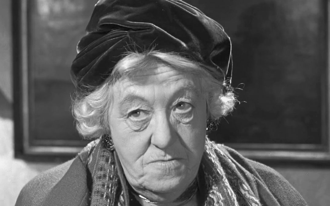 Margaret Rutherford Makes Me Happy